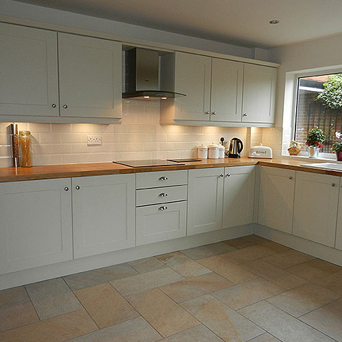 Portfolio droitwich roofing building specialists ltd for Building a new kitchen